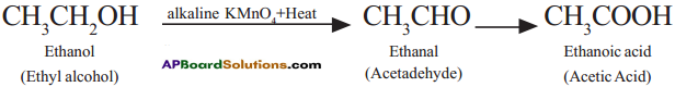 AP SSC 10th Class Chemistry Solutions Chapter 14 Carbon and its Compounds 8