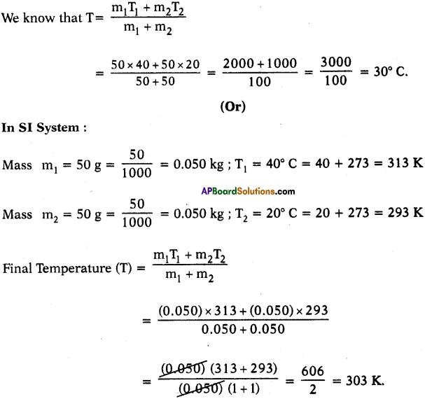 AP SSC 10th Class Physics Solutions Chapter 1 Heat 1