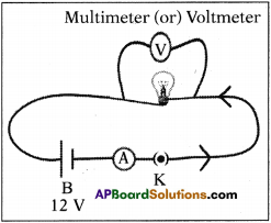 AP SSC 10th Class Physics Solutions Chapter 11 Electric Current 13