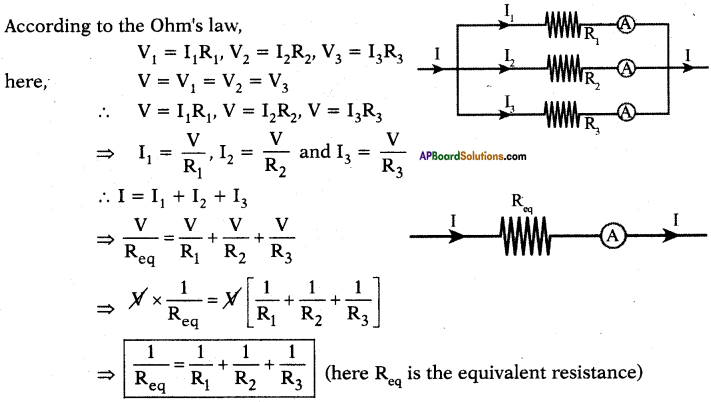 AP SSC 10th Class Physics Solutions Chapter 11 Electric Current 7