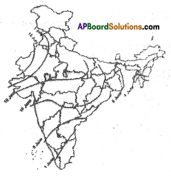 AP SSC 10th Class Social Studies Important Questions Chapter 4 Climate of India 6