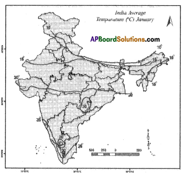 AP SSC 10th Class Social Studies Important Questions Chapter 4 Climate of India 7