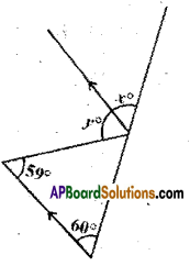 AP Board 9th Class Maths Solutions Chapter 4 Lines and Angles Ex 4.3 10