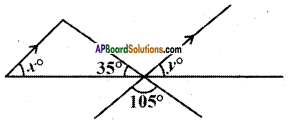 AP Board 9th Class Maths Solutions Chapter 4 Lines and Angles Ex 4.3 11