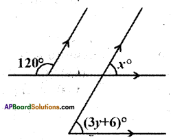 AP Board 9th Class Maths Solutions Chapter 4 Lines and Angles Ex 4.3 12