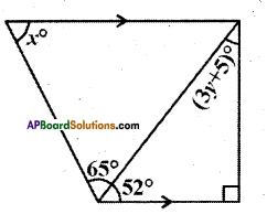 AP Board 9th Class Maths Solutions Chapter 4 Lines and Angles Ex 4.3 13