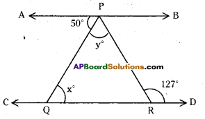 AP Board 9th Class Maths Solutions Chapter 4 Lines and Angles Ex 4.3 16