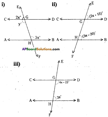 AP Board 9th Class Maths Solutions Chapter 4 Lines and Angles Ex 4.3 19