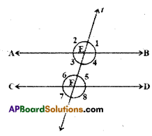 AP Board 9th Class Maths Solutions Chapter 4 Lines and Angles Ex 4.3 20