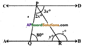 AP Board 9th Class Maths Solutions Chapter 4 Lines and Angles Ex 4.3 21