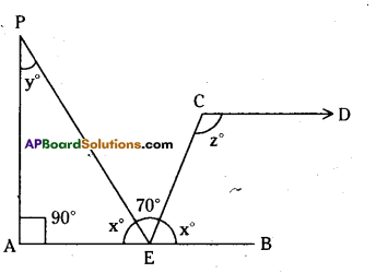 AP Board 9th Class Maths Solutions Chapter 4 Lines and Angles Ex 4.3 22
