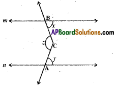 AP Board 9th Class Maths Solutions Chapter 4 Lines and Angles Ex 4.3 6
