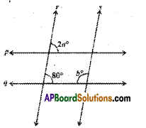 AP Board 9th Class Maths Solutions Chapter 4 Lines and Angles Ex 4.3 8