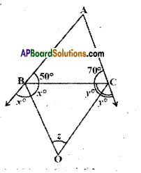 AP Board 9th Class Maths Solutions Chapter 4 Lines and Angles Ex 4.4 13