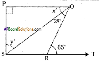 AP Board 9th Class Maths Solutions Chapter 4 Lines and Angles Ex 4.4 14