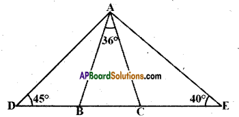 AP Board 9th Class Maths Solutions Chapter 4 Lines and Angles Ex 4.4 17