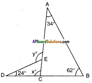AP Board 9th Class Maths Solutions Chapter 4 Lines and Angles Ex 4.4 18