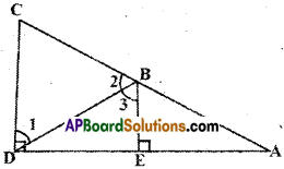AP Board 9th Class Maths Solutions Chapter 4 Lines and Angles Ex 4.4 4