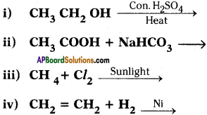 AP SSC 10th Class Chemistry Important Questions Chapter 14 Carbon and its Compounds 39