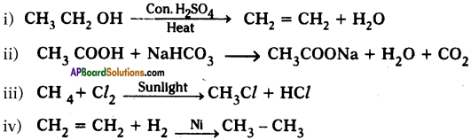 AP SSC 10th Class Chemistry Important Questions Chapter 14 Carbon and its Compounds 40