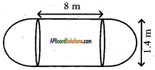 AP SSC 10th Class Maths Solutions Chapter 10 Mensuration Ex 10.2 5