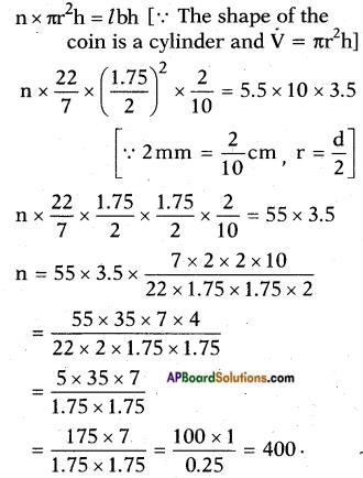 AP SSC 10th Class Maths Solutions Chapter 10 Mensuration Ex 10.4 7
