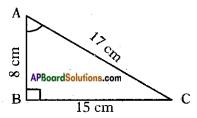 AP SSC 10th Class Maths Solutions Chapter 11 Trigonometry Ex 11.1 1