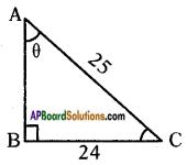 AP SSC 10th Class Maths Solutions Chapter 11 Trigonometry Ex 11.1 3