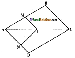 AP SSC 10th Class Maths Solutions Chapter 8 Similar Triangles Ex 8.1 2