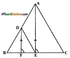 AP SSC 10th Class Maths Solutions Chapter 8 Similar Triangles Ex 8.1 5