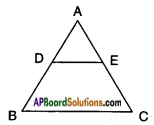 AP SSC 10th Class Maths Solutions Chapter 8 Similar Triangles Ex 8.1 7