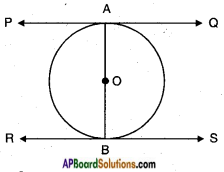 AP SSC 10th Class Maths Solutions Chapter 9 Tangents and Secants to a Circle Ex 9.1 4