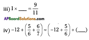 AP Board 8th Class Maths Solutions Chapter 1 Rational Numbers Ex 1.1 4