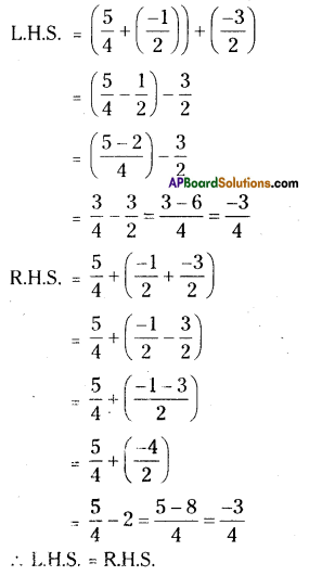 AP Board 8th Class Maths Solutions Chapter 1 Rational Numbers Ex 1.1 6