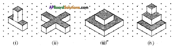 AP Board 8th Class Maths Solutions Chapter 13 Visualizing 3-D in 2-D Ex 13.1 5