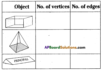 AP Board 8th Class Maths Solutions Chapter 13 Visualizing 3-D in 2-D Ex 13.2 4