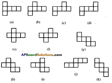 AP Board 8th Class Maths Solutions Chapter 13 Visualizing 3-D in 2-D Ex 13.2 7