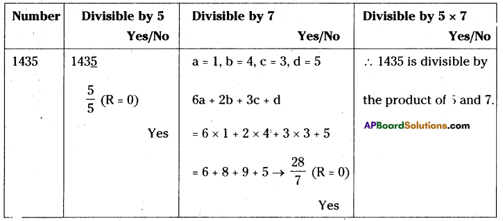 AP Board 8th Class Maths Solutions Chapter 15 Playing with Numbers Ex 15.4 7