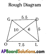AP Board 8th Class Maths Solutions Chapter 3 Construction of Quadrilaterals Ex 3.3 2