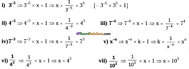 AP Board 8th Class Maths Solutions Chapter 4 Exponents and Powers InText Questions 1