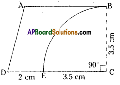 AP Board 8th Class Maths Solutions Chapter 8 Area of Plane Figures Ex 9.2 19