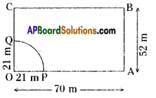 AP Board 8th Class Maths Solutions Chapter 8 Area of Plane Figures Ex 9.2 21