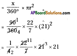 AP Board 8th Class Maths Solutions Chapter 8 Area of Plane Figures Ex 9.2 22