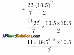 AP Board 8th Class Maths Solutions Chapter 8 Area of Plane Figures Ex 9.2 4