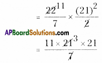 AP Board 8th Class Maths Solutions Chapter 8 Area of Plane Figures Ex 9.2 8