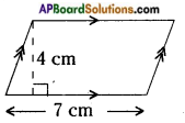 AP Board 8th Class Maths Solutions Chapter 9 Area of Plane Figures InText Questions 1