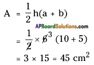 AP Board 8th Class Maths Solutions Chapter 9 Area of Plane Figures InText Questions 11