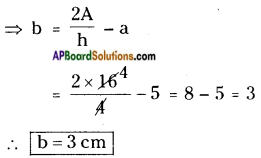AP Board 8th Class Maths Solutions Chapter 9 Area of Plane Figures InText Questions 12