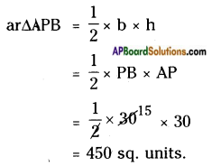 AP Board 8th Class Maths Solutions Chapter 9 Area of Plane Figures InText Questions 18