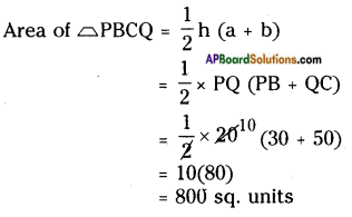 AP Board 8th Class Maths Solutions Chapter 9 Area of Plane Figures InText Questions 19